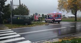Wypadek w Turowie. Dwie osoby poszkodowane [Aktualizacja + Zdjęcia]