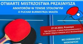 Otwarte mistrzostwa Przasnysza amatorów w tenisa stołowego
