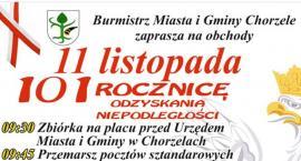 Obchody 11 Listopada w Chorzelach [Program]