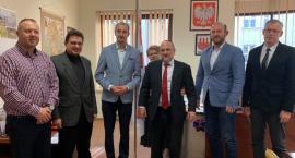 Naczelny Rabin Polski Michael Schudrich odwiedził Przasnysz