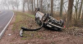 {AKTUALIZACJA] Dachowanie Audi w gminie Chorzele