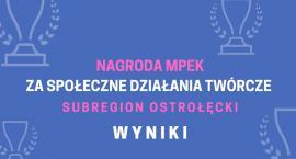 Nagrody MPEK za Społeczne Działania Twórcze trafiły do Marii Weroniki Kmoch i Tomasza Jakubowskiego