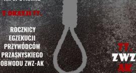 Spotkanie z okazji 77. rocznicy egzekucji przywódców przasnyskiego obwodu ZWZ-AK