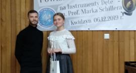 Sukces przasnyskiej flecistki na konkursie w Kwidzynie