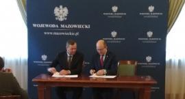 Droga w Węgrze zostanie przebudowana. Inwestycję wsparł Powiat