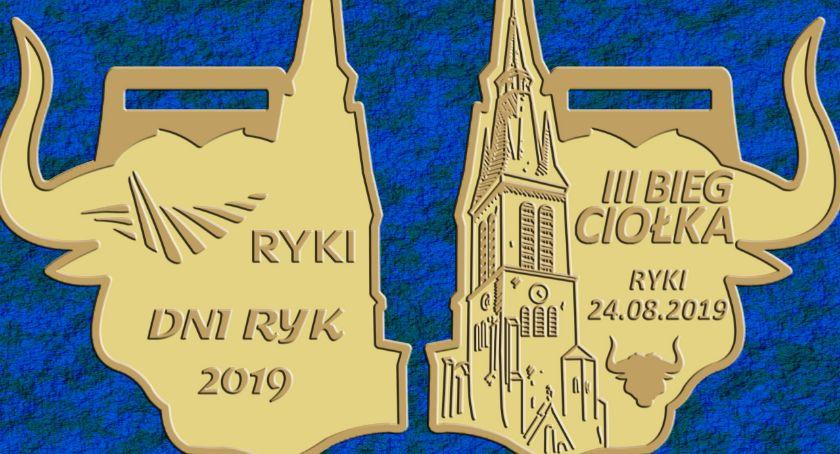 3. Bieg Ciołka, Przedstawiamy projekt medalu Biegu Ciołka - zdjęcie, fotografia