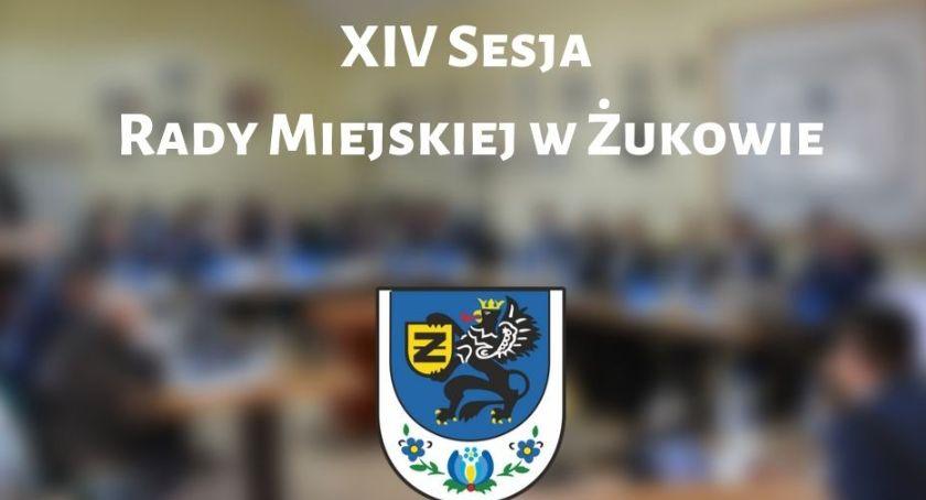 Wieści z samorządów, Sesja Miejskiej Żukowie - zdjęcie, fotografia