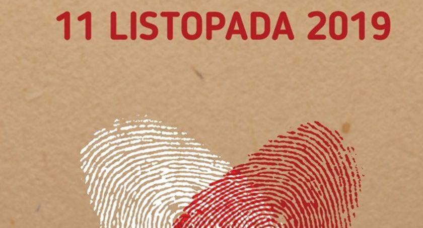 Uroczystości patriotyczne, Obchody Rocznicy Odzyskania Niepodległości Sierakowicach - zdjęcie, fotografia