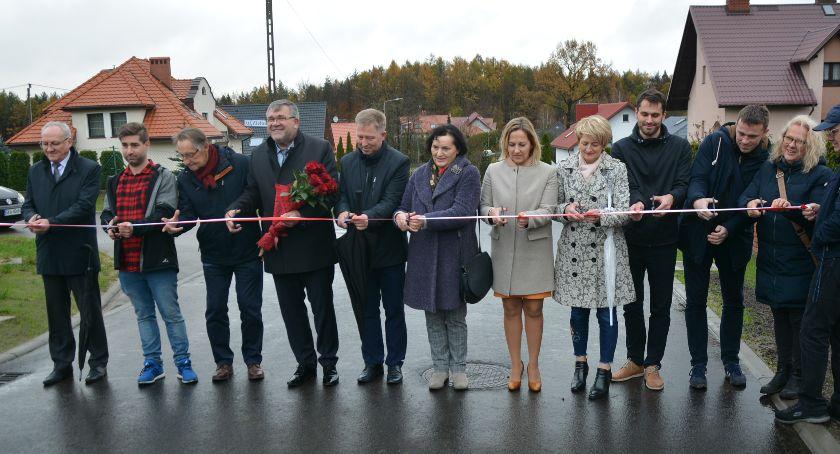 Inwestycje, Ulica Pogodna Grzybnie oficjalnie otwarta - zdjęcie, fotografia