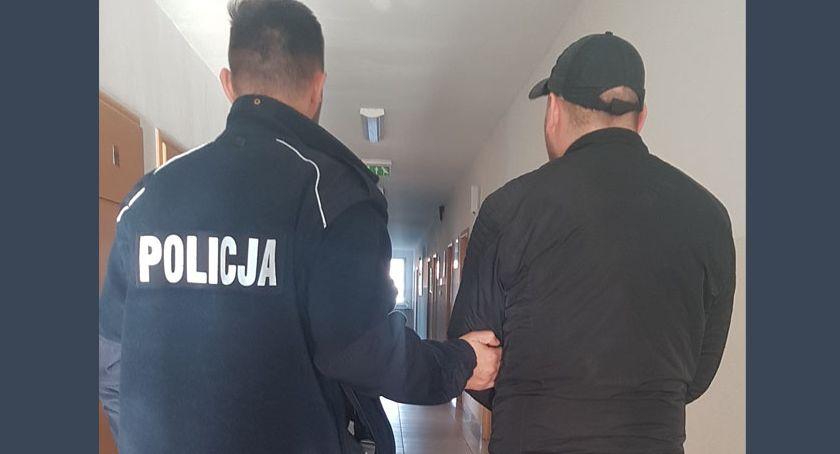 Kronika policyjna, Ponownie zatrzymano złodzieja który wchodził mieszkań Kartuzach - zdjęcie, fotografia