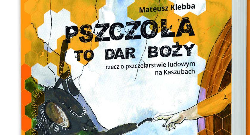 Literatura i sztuka, Spotkanie Mateuszem Klebbą autorem książki Pszczoła Boży - zdjęcie, fotografia