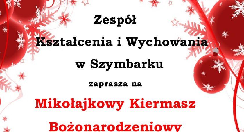 Szkoły podstawowe, Mikołajkowy Kiermasz Bożonarodzeniowy Szymbarku - zdjęcie, fotografia