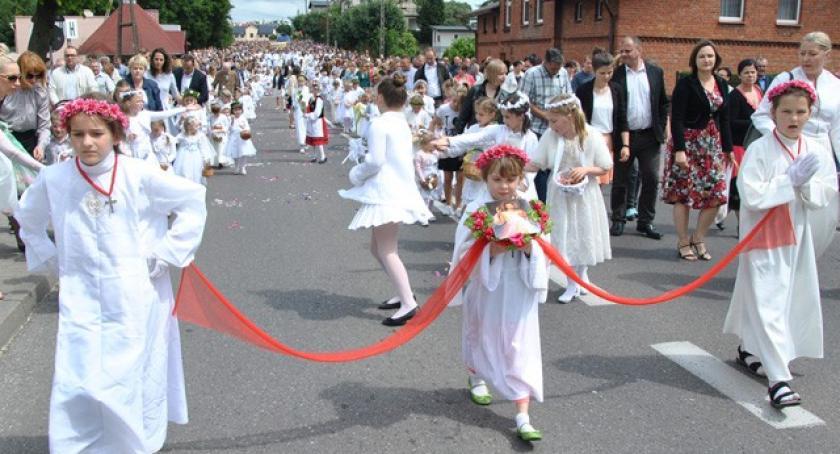 Religia, Przeszły procesje okazji Bożego Ciała - zdjęcie, fotografia