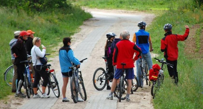Kolarstwo, Otwarcie Szlaku Hutniczego zapisz obejrzyj perspektywy roweru - zdjęcie, fotografia