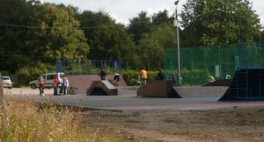 Inwestycje, Terminowy start skateparku Pierwsza inwestycja powiecie - zdjęcie, fotografia
