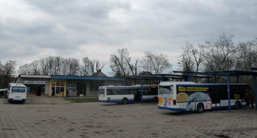 Transport, Grzybno Kartuzy Będzie komunikacja zastępcza zamknięcia drogi - zdjęcie, fotografia