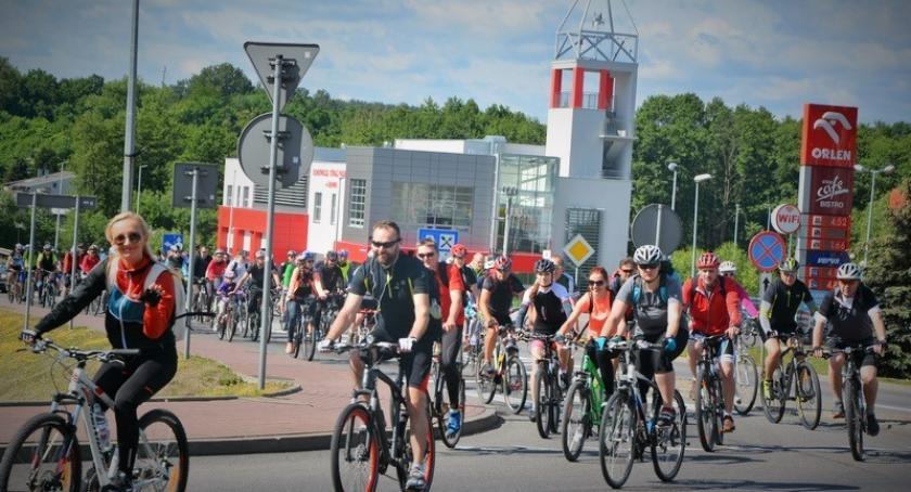 Kolarstwo, Blisko osób Kaszub ruszyło trasą Wielkiego Przejazdu Rowerowego - zdjęcie, fotografia