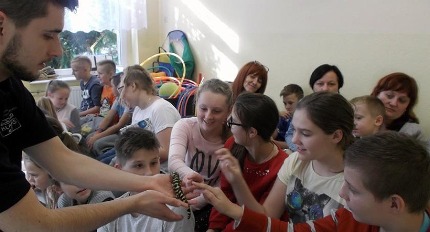 Szkoły podstawowe, Niezwykła lekcja przyrody Szkole Podstawowej Wilanowie - zdjęcie, fotografia