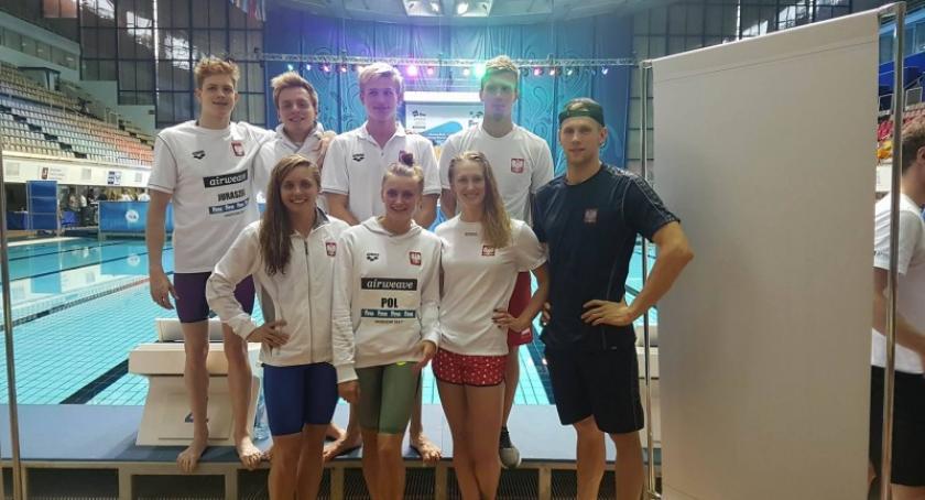 Pływanie, Jakub Skierka piąty Pucharze Świata Seniorów Moskwie - zdjęcie, fotografia