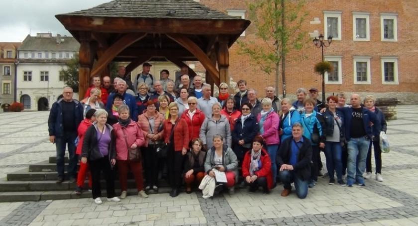Straż pożarna, Emeryci renciści pożarnictwa poznawali uroki Małopolski - zdjęcie, fotografia