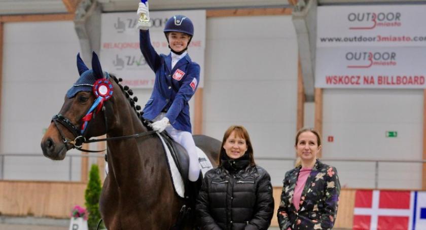 Jeździectwo i konie, Matylda Cybula powołana kadry narodowej - zdjęcie, fotografia