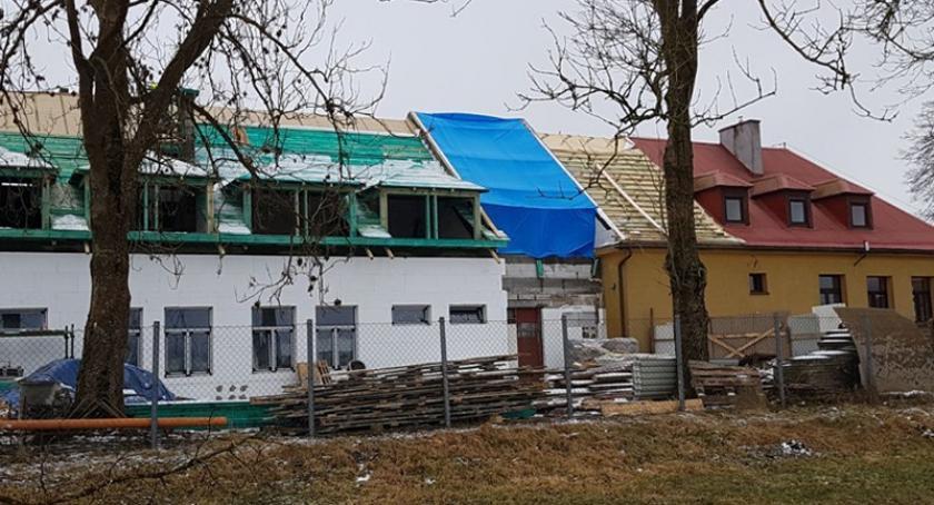 Przedszkola, Ruszyła budowa przedszkola Węsiorach - zdjęcie, fotografia