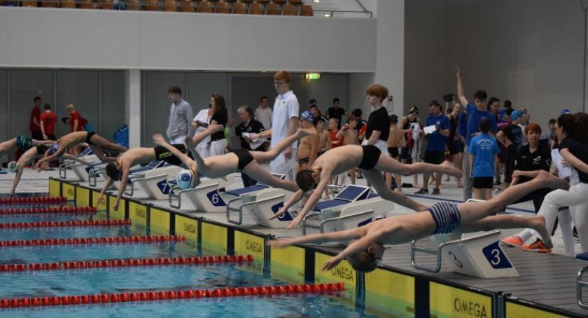 Pływanie, Pływacy Cartusii wysoko Europejskim Mitingu Pływackim Berlinie - zdjęcie, fotografia