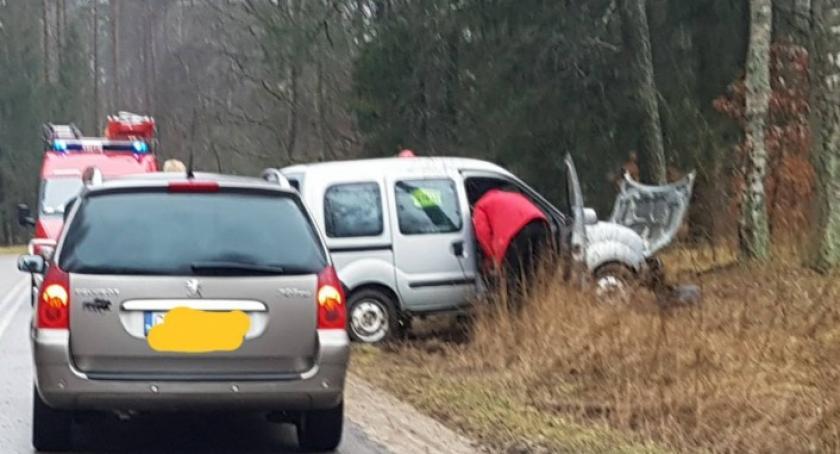 Wypadki, Wypadek Gołubiu szpitala trafiła letnia kobieta - zdjęcie, fotografia