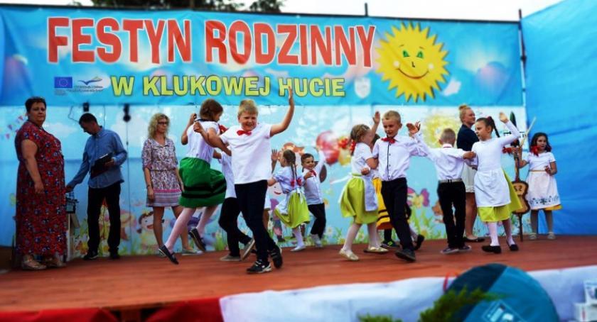 Imprezy, atrakcji Festynie Rodzinnym Klukowej Hucie - zdjęcie, fotografia