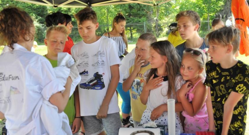 Imprezy, Pełna atrakcji zabawa pikniku Dzierżążnie - zdjęcie, fotografia