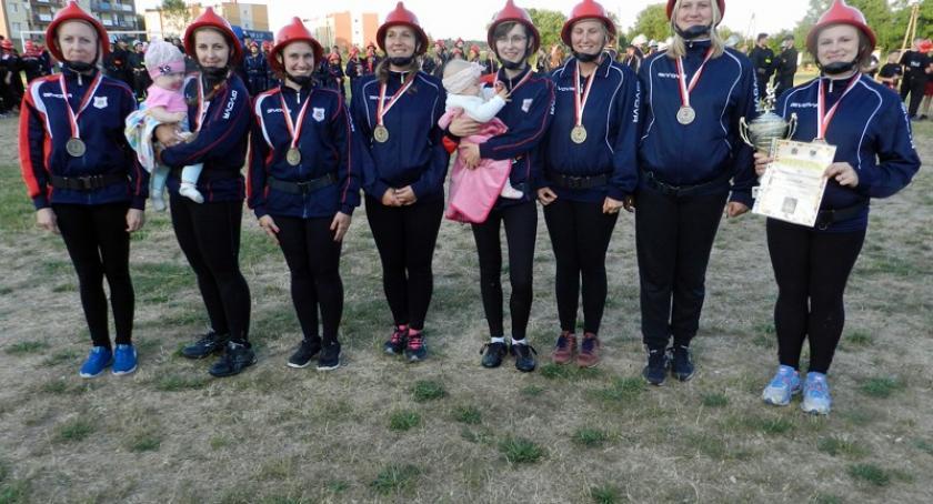 Straż pożarna, Leźno Druhowie Sulmina zwycięzcami gminnych zawodów sportowo pożarniczych - zdjęcie, fotografia