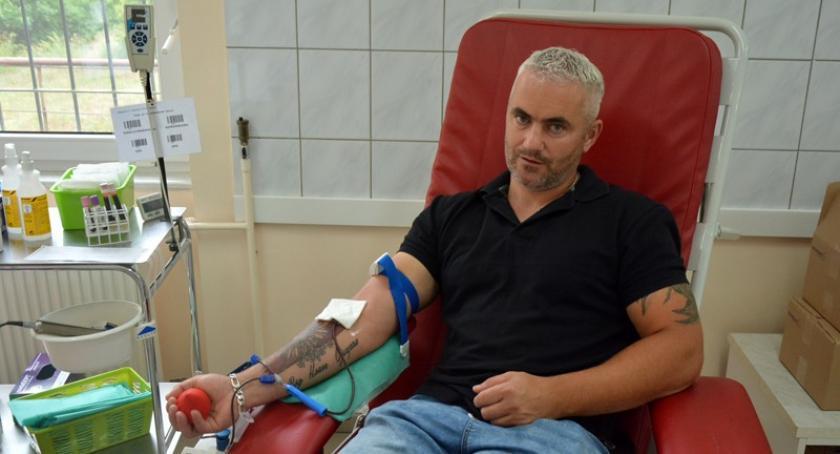 Akcje społeczne i charytatywne, Kartuzy Dzieli krwią zebrali ponad litrów! - zdjęcie, fotografia