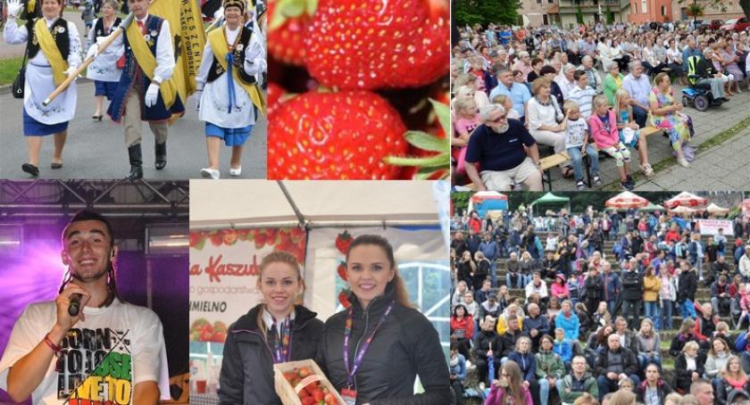 Zapowiedzi, Weekend znakiem koncertów Truskawkobrania Zjazdu Kaszubów - zdjęcie, fotografia
