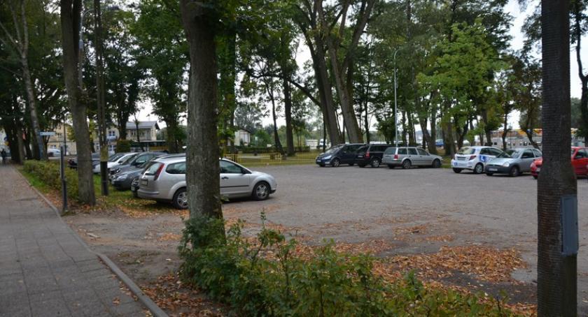 Inwestycje, Kartuzy Jeszcze powstanie parking Klasztornej - zdjęcie, fotografia