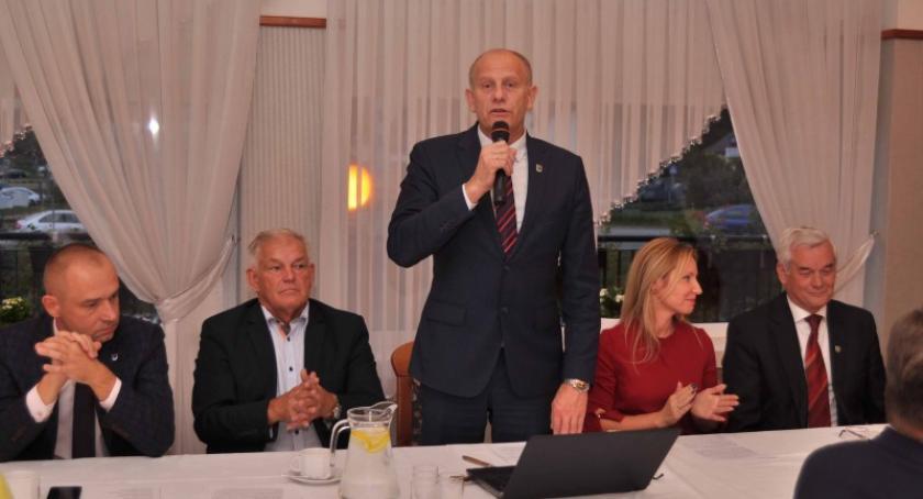 Wybory, Wojciech Kankowski podsumował minioną kadencję przedstawił program kolejną - zdjęcie, fotografia