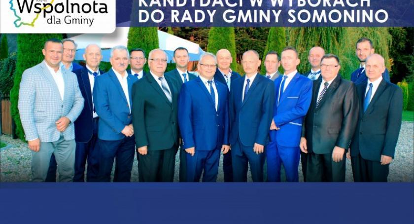 Wybory, Gmina Somonino zasługuje więcej Wspólnota Gminy - zdjęcie, fotografia