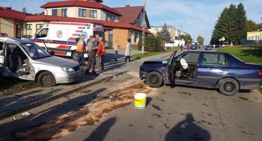 Wypadki, Wypadek Żukowie troje dzieci trafiło szpitala - zdjęcie, fotografia