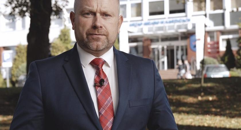 Wybory, Mariusz Treder Dlaczego kandyduje burmistrza Kartuz [Zobacz film!] - zdjęcie, fotografia