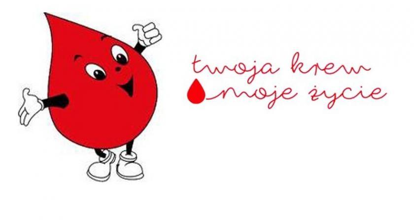 Akcje społeczne i charytatywne, sobotę możesz podzielić krwią Kartuzach Sierakowicach - zdjęcie, fotografia