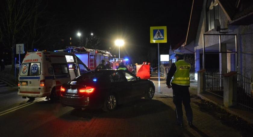 Wypadki, Śmiertelne potrącenie latki Zamkowej Kartuzach policja prosi świadków kontakt - zdjęcie, fotografia