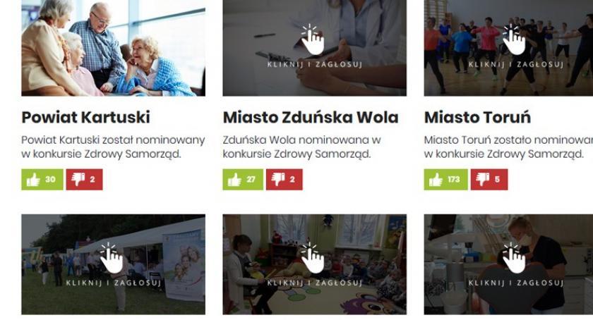 Zdrowie, Powiat kartuski nominacją konkursie Zdrowy Samorząd - zdjęcie, fotografia