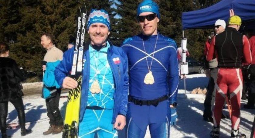 Sporty zimowe, Narciarze Cartusii zawodach Kotlinie Kłodzkiej - zdjęcie, fotografia