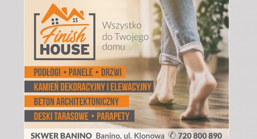 Biznes i finanse, Finish House Podłogi Drzwi salon Baninie zaprasza - zdjęcie, fotografia