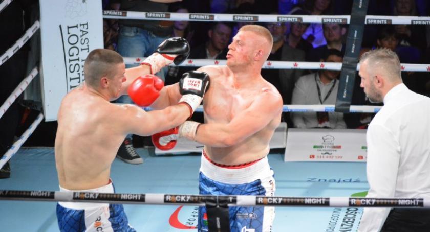 Sporty walki, Boksu Zawodowego Rocky Boxing Night Kościerzyna - zdjęcie, fotografia