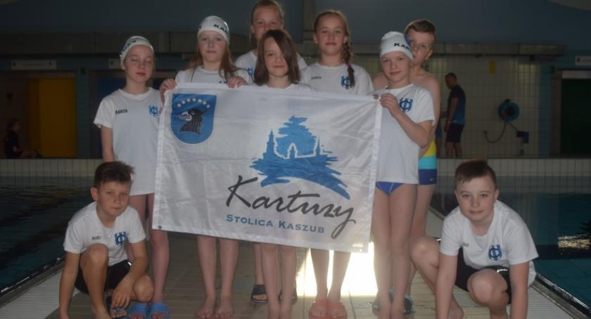 Pływanie, Sukces kartuskich pływaków Bałtyckich Nadziejach Olimpijskich Gdańsku - zdjęcie, fotografia