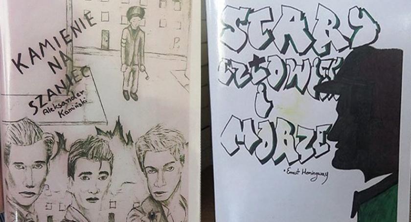 Szkoły średnie, Kartuzy Uczniowie stworzyli oblicze starej lektury - zdjęcie, fotografia
