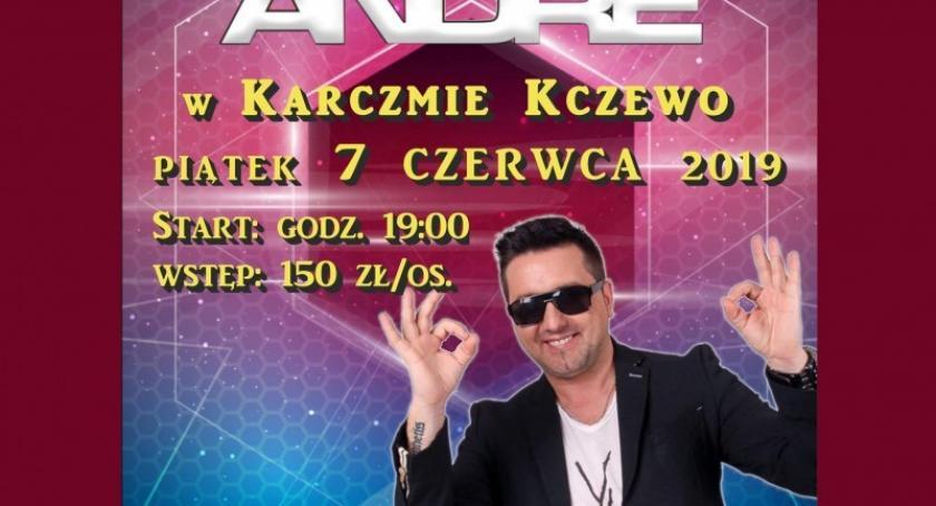 Rozrywka, Fantastyczna impreza gwiazdą disco Andre Karczmie Kczewo - zdjęcie, fotografia
