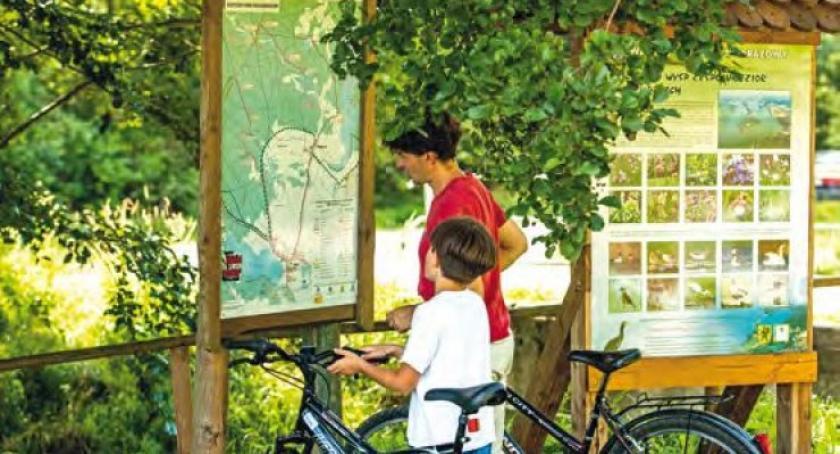 Kolarstwo, Osiem szlaków osiem tygodni znajdź hasło wygraj rower! - zdjęcie, fotografia