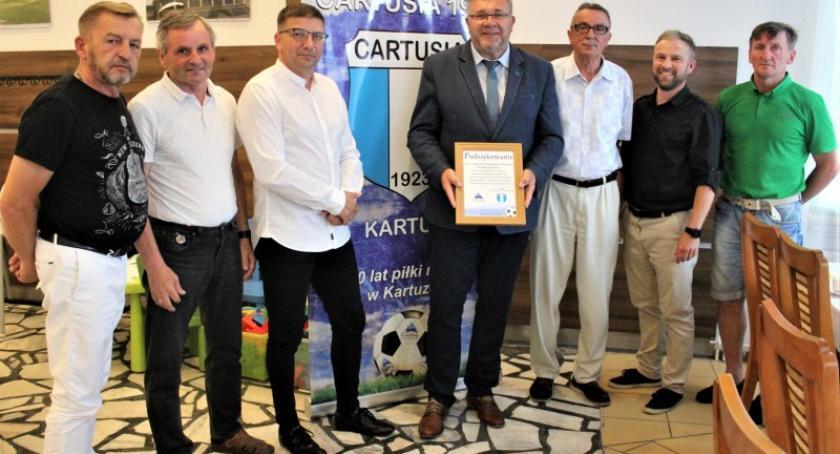 Piłka nożna, Piłkarze Cartusii rozpoczynają sezon 2019/2020 - zdjęcie, fotografia