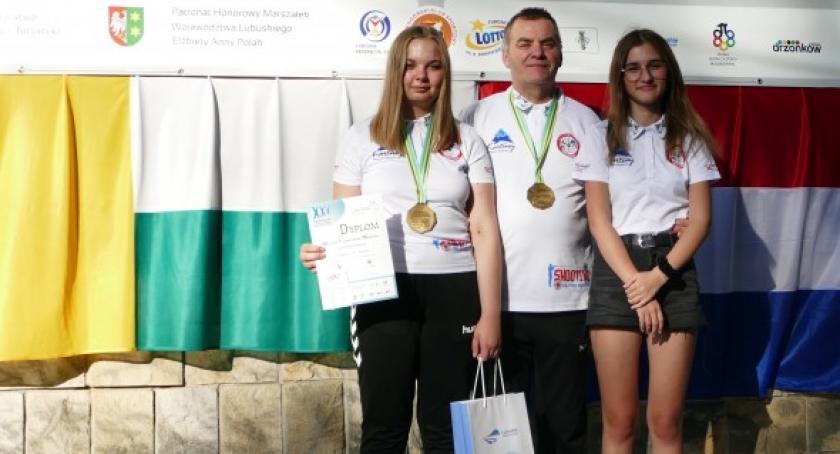 Strzelectwo, Magdalena Malotka Trzebiatowska podwójną złotą medalistką Ogólnopolskiej Olimpiady Młodzieży - zdjęcie, fotografia